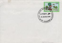LOIRET ORLEANS Bureau Temporaire Jeux Nationaux ASPTT 21.24 Mai 1994 Au Parc Des Expositions - Rare - Pas Adresse - Bolli Commemorativi