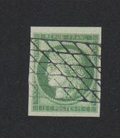 Reproduction N° 2 15 C Cérès Oblitération Grille Sans Fin - 1849-1850 Ceres