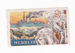 Vignette Militaire Delandre - Marine - Henri IV - Militario
