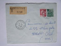 ALGERIE 24-5-1965 CONSTANTINE Vers OISE Timbres Sur Enveloppe - Algeria (1962-...)
