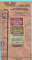 Spoorwegfragment, Afst. QUEVY FRONTIERE 26/03/1942 - 1942-1951