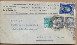 BRAZIL 1940 Cover Sent To Suisse 4 Stamps COVER USED - Cartas
