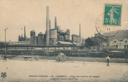 54) Longwy - Vue Générale Des Aciéries De Longwy à Mont-Saint-Martin (1911) - Longwy