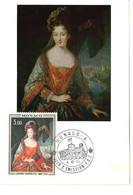 """MONACO-CARTE MAXIMUM Collection D'Art Du Palais Princier """"Louise Hyppolite"""" - Maximumkarten (MC)"""