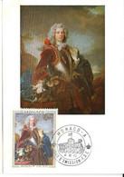 """MONACO-CARTE MAXIMUM Collection D'Art Du Palais Princier """"Jacques 1ér"""" - Maximumkarten (MC)"""