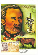 "MONACO-CARTE MAXIMUM ""Louis Pasteur"" - Maximumkarten (MC)"
