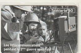 Rare Carte Téléphonique Les Télécommunications Pendant La 2 Eme Guerre Mondiale   100 000 Ex - 1994