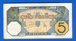 5  Fr  1932 Sénégal - Senegal