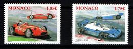 "MONACO 2013 : N° 2868-2869  - "" Maserati 250F & Tyrrell P34 "" - Neuf** - - Nuovi"