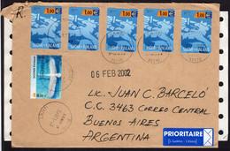 Finland - 2002- Letter - Par Avion - Envoyé En Argentine - A1RR2 - Lettres & Documents