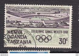 Kenya, Uganda, Ouganda, Tanzanie, Tanzania, Jeux Olympiques De Mexico Olympic Games, Stade, Stadium - Estate 1968: Messico