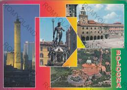 CARTOLINA  BOLOGNA, EMILIA ROMAGNA,CITTA UNIVERSITARIA, STORIA, ,CULTURA,  RELIGIONE, VIAGGIATA 1994 - Bologna