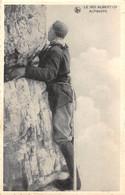 LE ROI ALBERT 1ER - Alpiniste. - Koninklijke Families