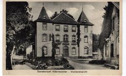 ALLEMAGNE-ALBERSWEILER-SANATORIUM- VORDERANSICHT-ANIMEE - Sin Clasificación