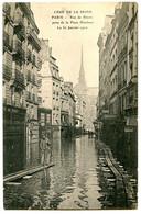 75005 PARIS - Rue De Bièvre Prise De La Place Maubert - 30 Janvier 1910 - Au Fond, Notre-Dame - Paris (05)