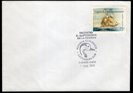 Argentina - 2001 - Matasello Especial - Encontra Al Gliptodonte En La Reserva - Reserva Eco - Costanera Sur - A1RR2 - Oblitérés