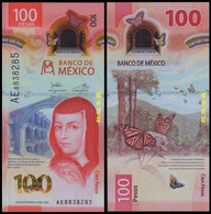 Mexico 100 Pesos (2020), Sign.27: Heath-Rabiela, Polymer - Messico