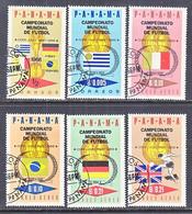 PANAMA  466- 468 F  (o)  COPA  MUNDIAL  SOCCER - 1966 – Engeland