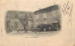 ".CPA  FRANCE 84 ""Sault, La Fontaine"" - Sonstige Gemeinden"