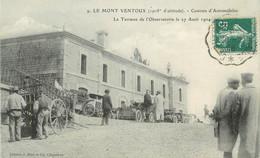 """.CPA  FRANCE 84 """"Mont Ventoux, Courses D'automobiles, La Terrasse De L'observatoire """" - Andere Gemeenten"""