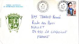 BELLE ENVELOPPE Des TAAF De 1990. Parfait état - Unclassified