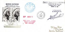 BELLE ENVELOPPE Des TAAF De 1988. Parfait état - Unclassified