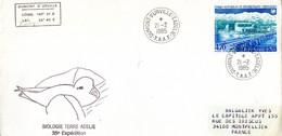 BELLE ENVELOPPE Des TAAF De 1985. Parfait état - Unclassified