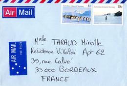 BELLE ENVELOPPE Des TAAF. Parfait état - Unclassified