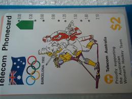 AUSTRALIA  USED CARDS  SPORTS OLYMPIC GAMES BARCELONA 1992 - Giochi Olimpici