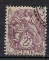 CRETE     N° YVERT  :    2   OBLITERE    ( 9/43 ) - Oblitérés