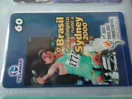 BRAZIL  USED CARDS  SPORTS  SYDNEY 2000  OLYMPIC GAMES - Giochi Olimpici
