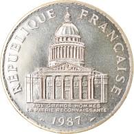 Monnaie, France, Panthéon, 100 Francs, 1987, Paris, FDC, Argent, KM:951.1 - N. 100 Francs