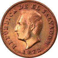 Monnaie, El Salvador, Centavo, 1972, SUP+, Bronze, KM:135.1 - El Salvador
