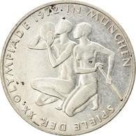 Monnaie, République Fédérale Allemande, 10 Mark, 1972, Karlsruhe, TTB - Other