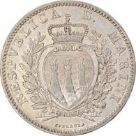 Monnaie, San Marino, 2 Lire, 1898, Rome, SUP, Argent, KM:5 - Saint-Marin