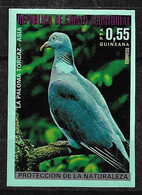 Guinée équatoriale N° 54a Non Dentelé Oiseaux Pigeon Ramier  Neuf  * *   TB = MNH VF   Voir Scans   Soldé   ! ! ! - Columbiformes