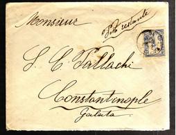 42156 - Pour CONSTANTINOPLE - Briefe U. Dokumente