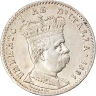 Monnaie, Eritrea, Umberto I, Lira, 1891, Roma, SUP, Argent, KM:2 - Eritrea