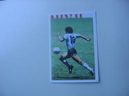 Football - Carte De Jeu De Société - Diego Maradona - Otros