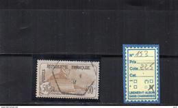 FRANCE OBLITERE - N° 153 - Gebruikt