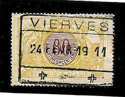 TR 39, Spoorwegafst. VIERVES 24/02/1911 - 1895-1913