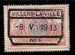 TR 35, Spoorwegafst. VILLERS-LA-VILLE 08/05/1913 - 1895-1913