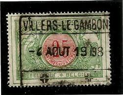 TR 31, Spoorwegafst. VILLERS-LE-GAMBON 04/08/1908 - 1895-1913