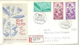 FDC  1964 CERTIFICADO - Riu Muni
