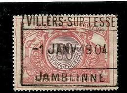 TR 35, Spoorwegafst. VILLERS-SUR-LESSE JAMBLINNE 01/01/1904 - 1895-1913