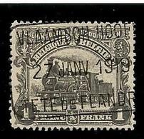 TR 91, Spoorwegafst. VLAAMSCH HOOFD / TETE DE FLANDRE 27/01/1919 - 1915-1921
