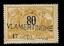 TR 24, Griffe VLAMERTINGHE 17/10/1903 - Vlamertinge - 1895-1913