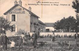 """¤¤  -   SAINT-MAMMES   -  """" L. BONNOT Fils """" Entrepreneur De Halage      -   ¤¤ - Saint Mammes"""