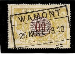 TR 39, Spoorwegafst. WAMONT 25/11/1910 - 1895-1913