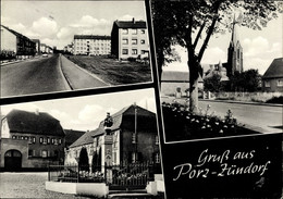 CPA Zündorf Porz Köln Nordrhein Westfalen, Straßenansicht, Kirche, Denkmal - Andere